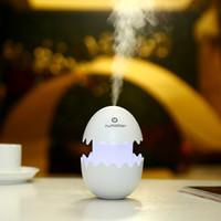 Mini-humidificateur d'air mignon Funny Egg Diffuseur d'huiles essentielles personnelles pour voiture et maison utilisant JSQ-01