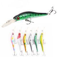 9.5cm 6.1g Minnow Fishing Lure Hard Bait Artificial Crank Bait Fishing Tackle Quality Wobblers Swimbait