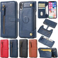 Luxury Flip Leather Wallet Phone Cases For iPhone 6 6s 7 7 P...