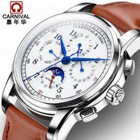 Luxury Mechanical Watch Men Multifunctional Water Resistant ...