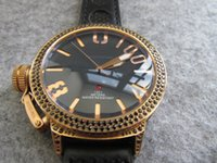 55mm big size AUTOMATIC dark style cool BLACK DIAMOND GOLD M...