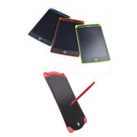 8.5 pouces LCD Touch Touch Rédigez Tablette Tablette Tablette Digital Portable Dessin Pad d'écriture électroniques pour adultes enfants enfants cadeau avec stylo