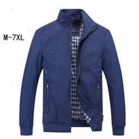 Asstseries New 2018 Jacket Men Fashion Casual Loose Mens Jacket Sportswear Bomber Jacket Giacche e cappotti da uomo Plus Size M- 7XL