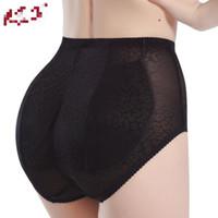 2 kleuren Sexy Panty Knickers Bil Backside Bum Patded Butt Enhancer Hip Up Underwear Insert Mollige Panty