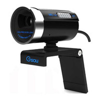 Gsou A20 1200 Megapiksel HD USB 2.0 Webcam 1600x1200 Çözünürlük PC Kamera WebCam Dijital Video Web kamera Skype için MIC ile MSN