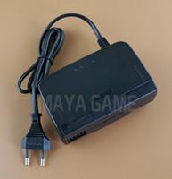 Cargador de pared de enchufe de la UE de alta calidad Cargador de la fuente de alimentación del adaptador de CA / CC para N64 para N64 Negro