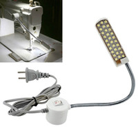 LED Sewing Machine Light Working Gooseneck Lamp 30 LEDs with...
