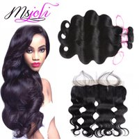 Peruvian Body Wave Virgin Hair Bundles Lace Frontal Ear To E...