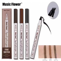 Music Flower Liquid Eyebrow Pen Eyebrow pencil powder 3 Colo...