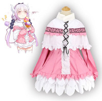 La costumista di Miss Kobayashi Dragon Maid Kamui Kanna Dress Uniform Meidofuku Anime Outfit Costumi Cosplay