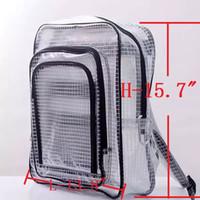 40см * 35см * 15см антистатические ясный рюкзак сумка для чистых помещений инженер мешок полное покрытие из ПВХ для инженера пут компьютерного инструмента, работающего в чистых помещениях