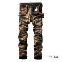 Kühle Lasperal Mens Vintage-Jeans Male Gerade Plissee-Hosen-Hose-Qualitäts-Marken-Männer Fit Jeanshosen plus Größe 29 -42