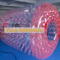Ruota gonfiabile commerciale del criceto del corridore dell'acqua della palla di rullo del rullo TPU 2.6x2.4x1.9m di Waterwalker con la pompa Trasporto libero