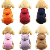 Dog Hoodies Pet Clothes For Dogs Coat Jackets Cotton Dog Clo...