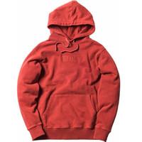 Männer Frauen Hoodies lose beiläufige Street Rot Schwarz Hip Hop Lässige Hoody Sweatshirts S-XL 2020