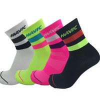 New Cycling Socks High Elasticity Breathable Men Women Sport...