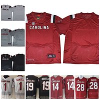Custom NCAA South Carolina Gamecocks Personalized Any Name Number Bentley  Turner Jerseys White Black Red Grey College Football Jerseys S-3XL 9dc38e513