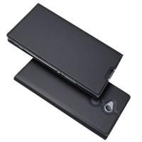 Para Sony Xperia XA1 Plus Xperia XA1 Ultra Flip Case Funda magnética para billetera Libro Funda de cuero Kickstand Funda protectora