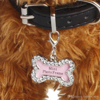 Personalized Pet Dog Id Tag Luxury Crystal Decorated Anti Lo...