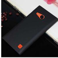 Moda de alta qualidade fosco plástico duro 4.7for nokia lumia 730 case para nokia lumia 730 735 celular case capa