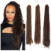 ZhiFan New Afro Hot Straight And Curly Hollow Braid Syntheti...