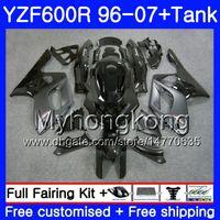 Karosserie + Tank für YAMAHA YZF600R Lager schwarzer Rahmen Thundercat 02 03 04 05 06 07 229HM.33 YZF 600R YZF-600R 2002 2003 2004 2005 2006 Verkleidung