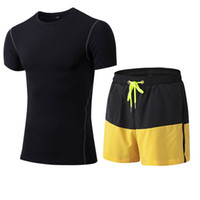 Compression Fitness Tights Set Quick Dry Sportswear Costume ...