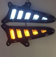 Mais novo carro frente / traseira lâmpada lâmpada lâmpada LED DRL Daytime Running Lights Substituição para TOYOTA C-HR CHR 2016 2017