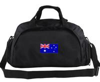 أستراليا حقيبة القماش الخشن العلم الوطني حمل البلد راية ظهره 2 استخدام طريقة ممارسة الأمتعة الرياضة الكتف واق من المطر شعار حبال حزمة