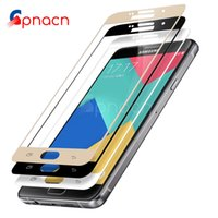Full Cover Tempered Glass For Galaxy A3 A5 A7 2016 2017 Scre...