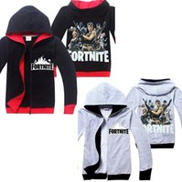 Fortnite Kids Cotton Long Sleeve Casual Sweatshirt Boys Girl...