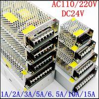 DC24V 1A 2A 3A 5A 6.5A 8.5A 10A 15A 20A Adattatore trasformatore Adattatore trasformatore AC110V-240V a 24V Adattatore per LED Strip Light