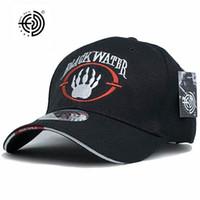 새로운 도착 블랙 워터 전술 캡 남성 야구 모자 스냅 백 모자 미국 육군 캡 해군 씰 블랙 워터
