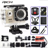 RICH Action camera F60   F60R Ultra HD 4K   30fps WiFi 2. 0