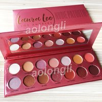 Laura Lee Los Angeles Eyeshadow palette shimmer Makeup 14 co...