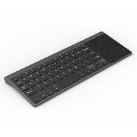 Small Wireless Computer Keyboard 2. 4G Wireless TV Computer E...