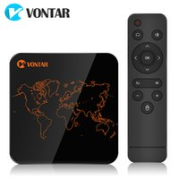 12pcs VONTAR V1 Pro 2GB 16GB Android TV Box Amlogic S905W Qu...