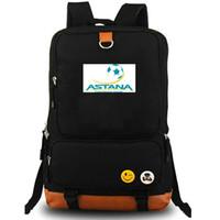 Astana Rucksack FC Kluby Daypack Kasachstan Fußballverein Schultasche Fußball Packsack Teamrucksack Laptop-Schultasche Outdoor-Tagesrucksack