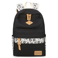 3 Vintage Black Backpack White Pcs Sunflower Canvas And Pencil Set School Girls Bag Schoolbag Kids Bags For Shoe Cute Girl Pouch Tbjdr
