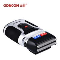 Pistonlu Çift Bıçak Elektrikli Tıraş Makinesi Yıkanabilir Hızlı Şarj Edilebilir Tıraş Erkekler için traş makinesi ile favor ...