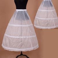 3 cerceaux blanc une ligne longue robe de fille de fleur jupon enfants ballet jupon enfant crinoline tutu jupes filles jupon