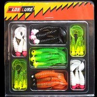 Fishing Grub Soft Bait Lure Beginner Single Curly Tail Worm ...