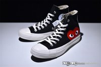 2018 Come CDG des GARÇONS PLAY x Conv ChuckTaylor Hidden Hea...