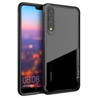 iPaky Huawei P20 Pro Lite Case Transparent Back Cover PC+ TPU...