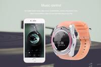 V8 смарт-часы Bluetooth SmartWatch с 0.3 M камеры SIM IPS HD полный круг дисплей смарт-часы для Android системы с коробкой