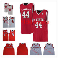 8ce9d55d1 Mens NCAA North Carolina State Wolfpack Dennis Smith Jr. College Basketball  Jersey Stitched Blank 44 David Thompson NC State Wolfpack Jersey