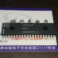 SAA7210P. pour les systèmes audio numériques à disques compacts CI de circuit intégré, boîtier en plastique double en ligne à 40 broches SAA7210. PDIP40