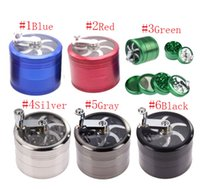 Originality Aluminum Alloy Grinder Diameter 55MM 4layers Han...