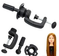 Kozmetoloji Ayarlanabilir Model Manken Baş Peruk Tutucu Standı Masası Masa Kelepçe Kuaförler Salon Styling Araçlar Standı Peruk