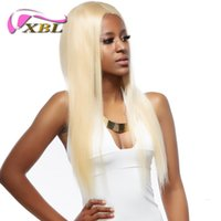 xblhair straight blonde brazilian human hair weave wholesale...